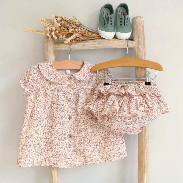 Dusty Pink floral set