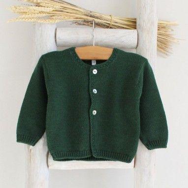 Casaco Básico Verde Garrafa
