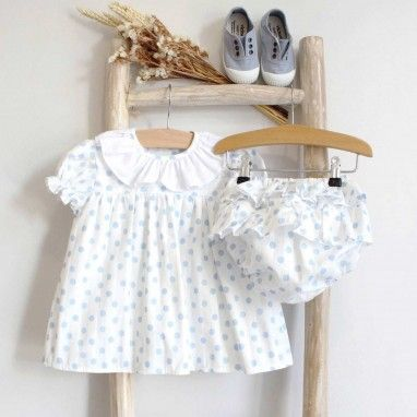 Dots Dress with Bloomers
