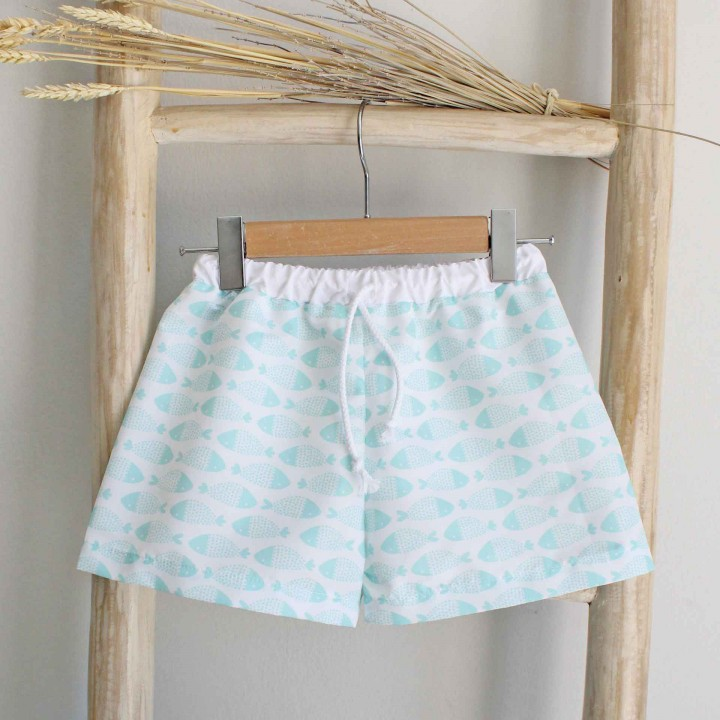 Boys Trunks with little fishes