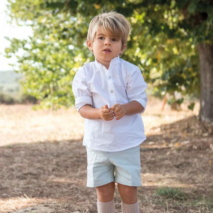 Boys aqua classic shorts
