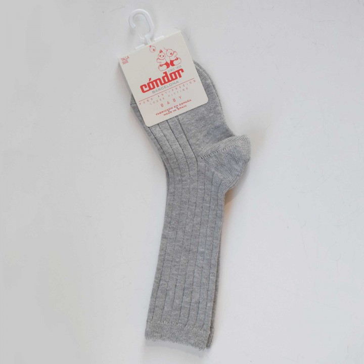 Knee High grey Socks