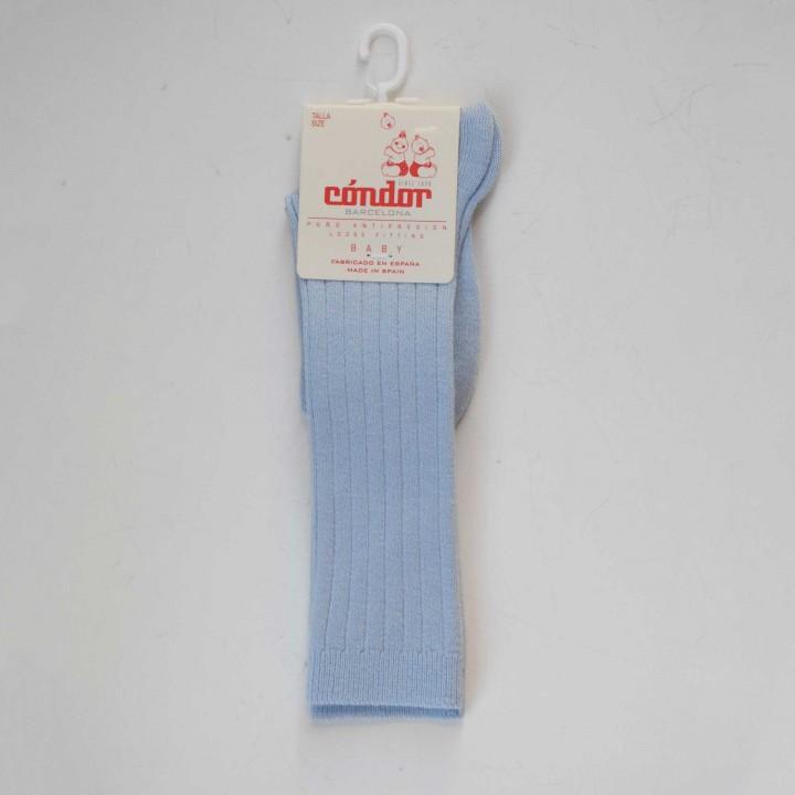 Knee High light blue Socks