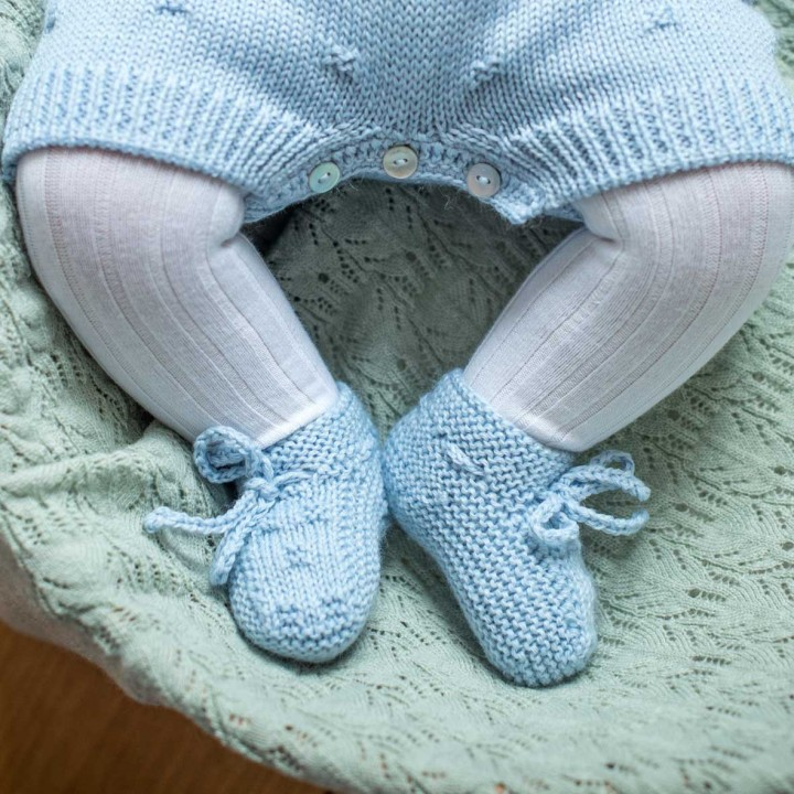 Botinhas em lã