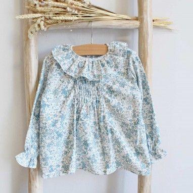 Camisa com flores