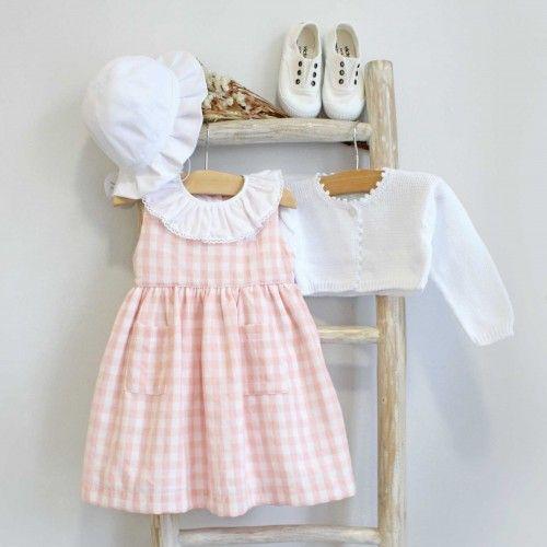 Vestido Quadrados Rosa