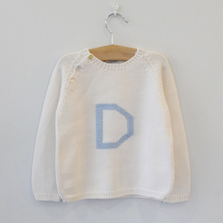 Pearl Jumper with D letter