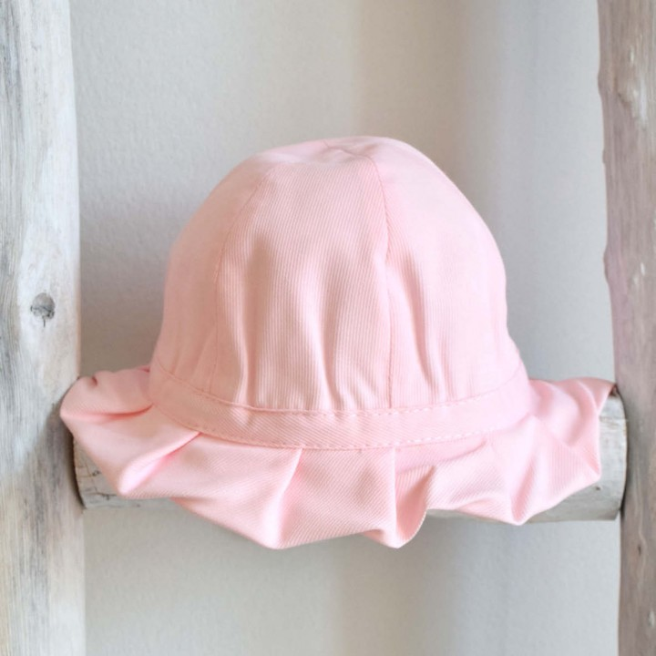 Frilly Pink Hat