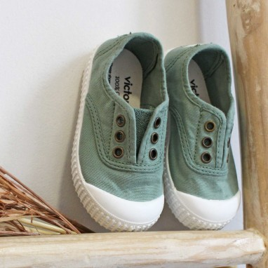 Jade Washed Canvas Shoes