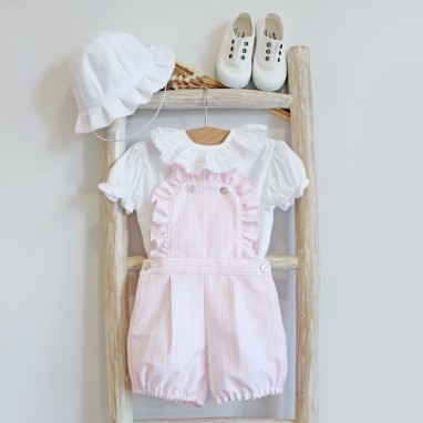 Stripes shortalls