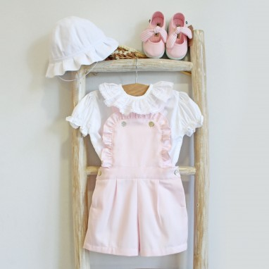 Frilly Shortalls