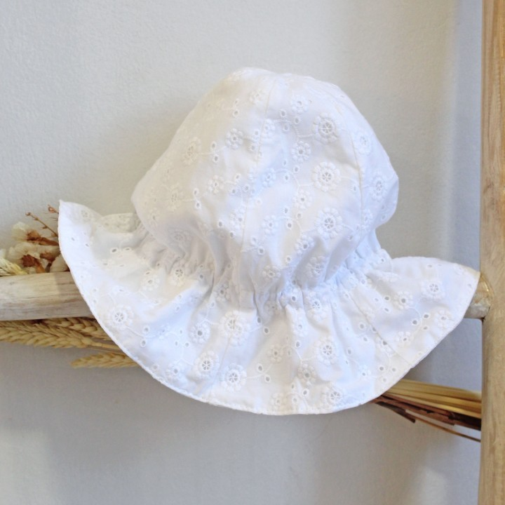 Chapéu Bordado Inglês