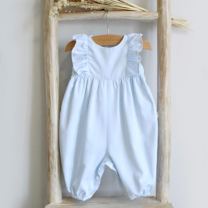 Frilly Overalls