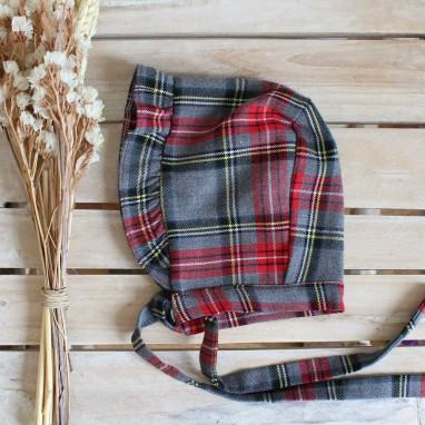 Plaid Bonnet
