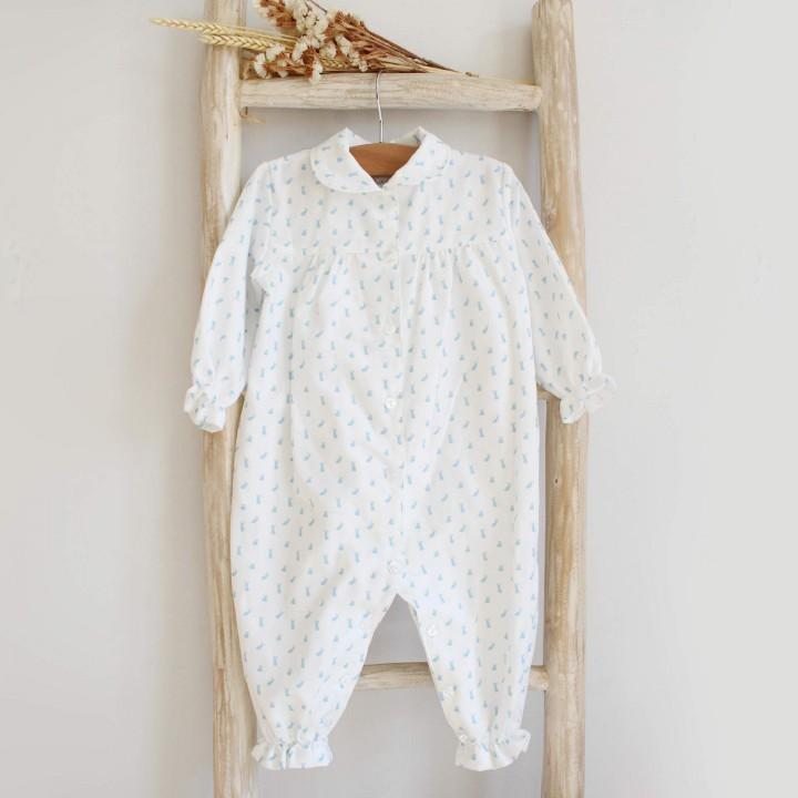 Pijama Bébe com coelhos