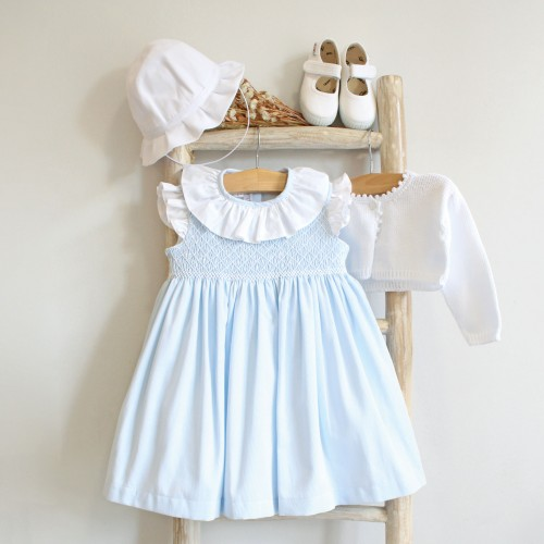 Hand Embroidered Blue dress