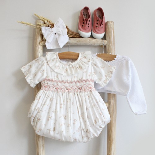 Hand Embroidered Romper