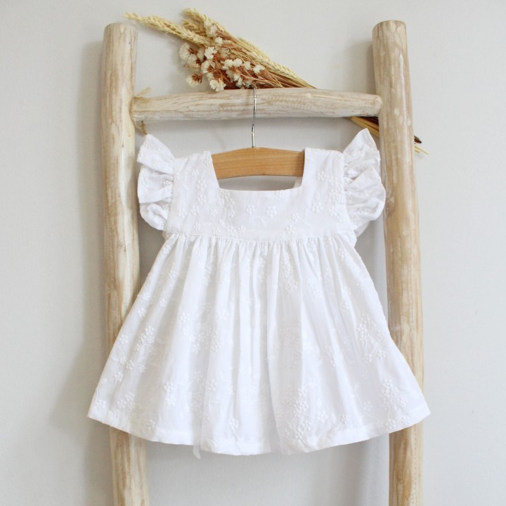 English Embroidery White Tunic