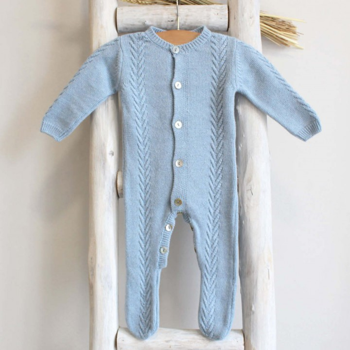 Wool and cashmere Knitted overalls