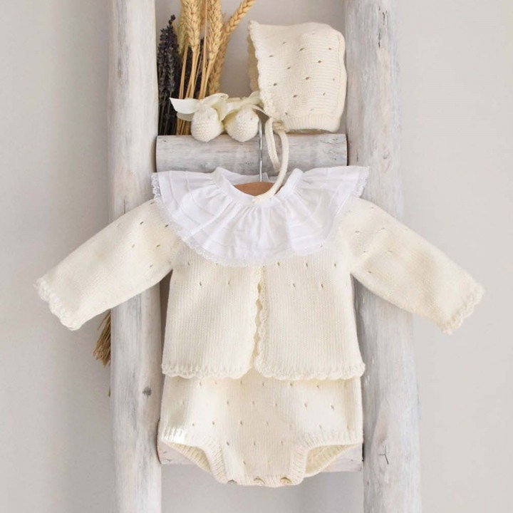 Fôfo em algodão biológico com laço