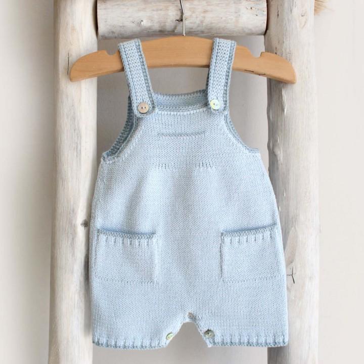 Knitted shortfalls with pockets
