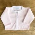 Scalloped Pink cardigan