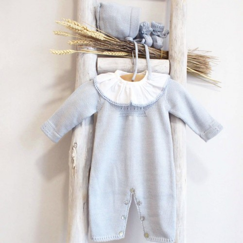 Macacão Lã Azul