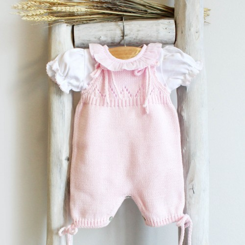 Romper with ties