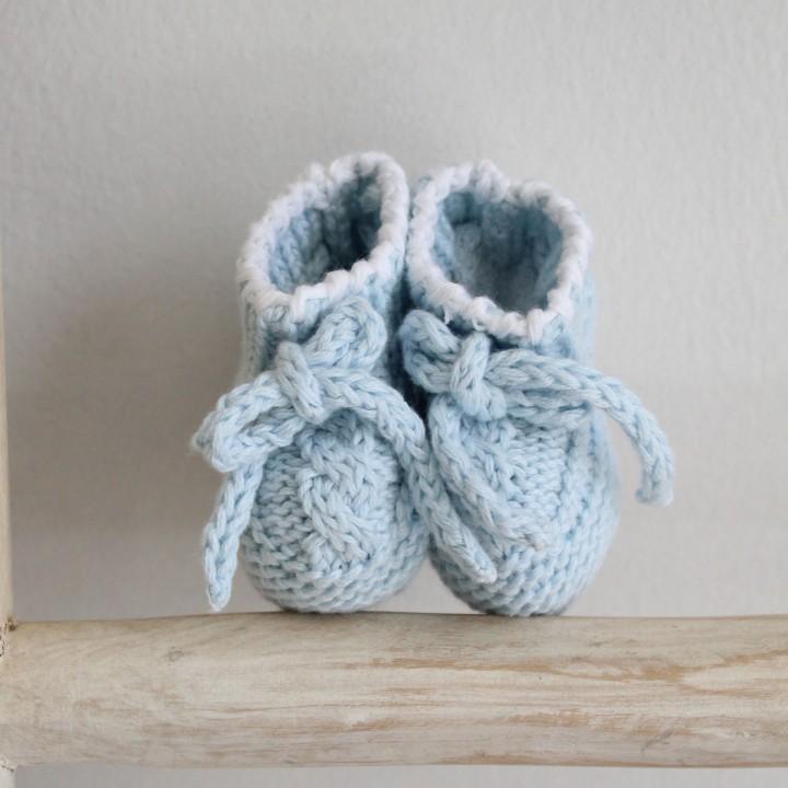 Sapatinhos em algodão
