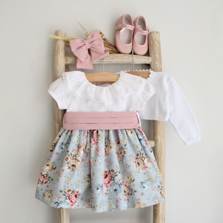 Mix dress with lace