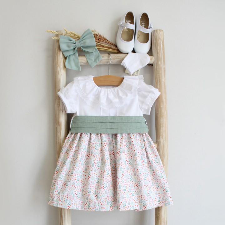 Vestido Mix Flores