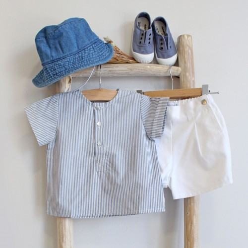 Blue Stripes Tunic