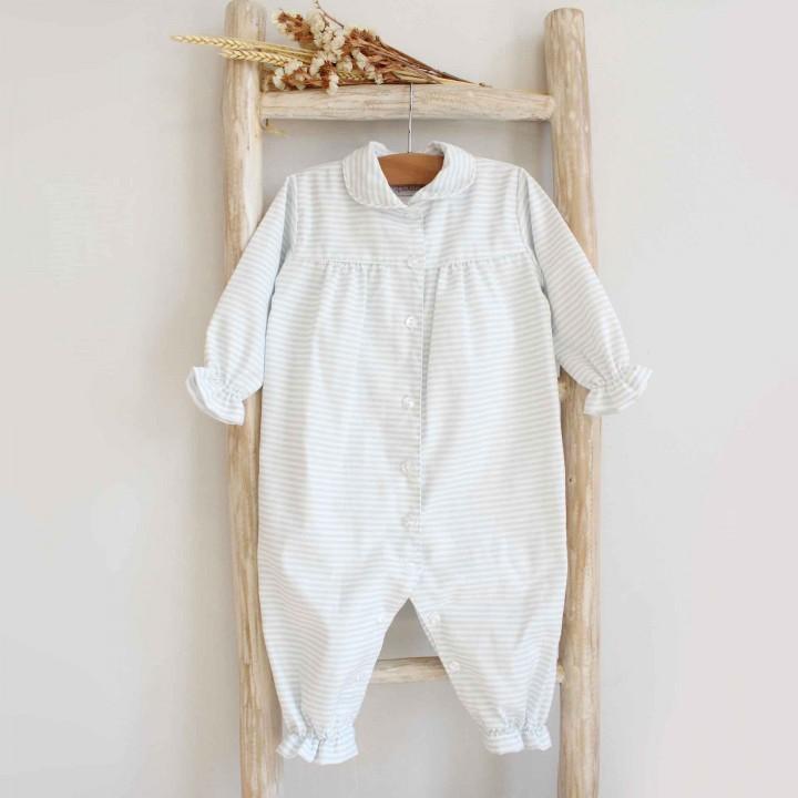 Pijama Bébe com riscas