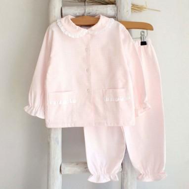 Pink Vichy Pyjama