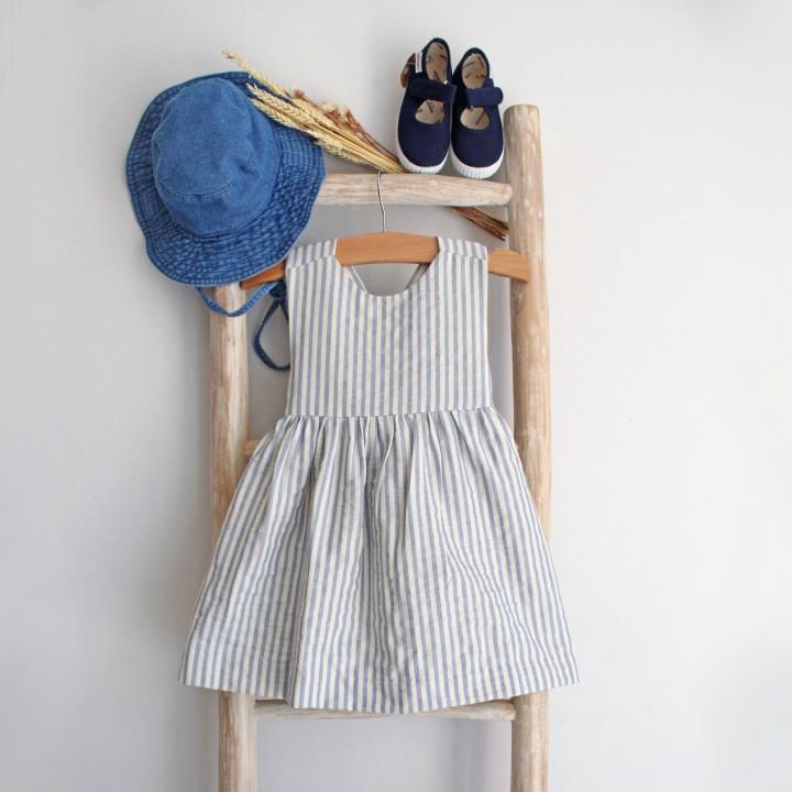 Vestido Riscas
