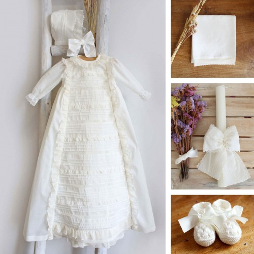 Ivory Baptism Gown