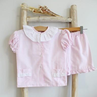 Pink stripes Pyjama