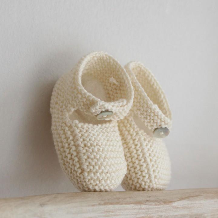 Botinhas em algodão