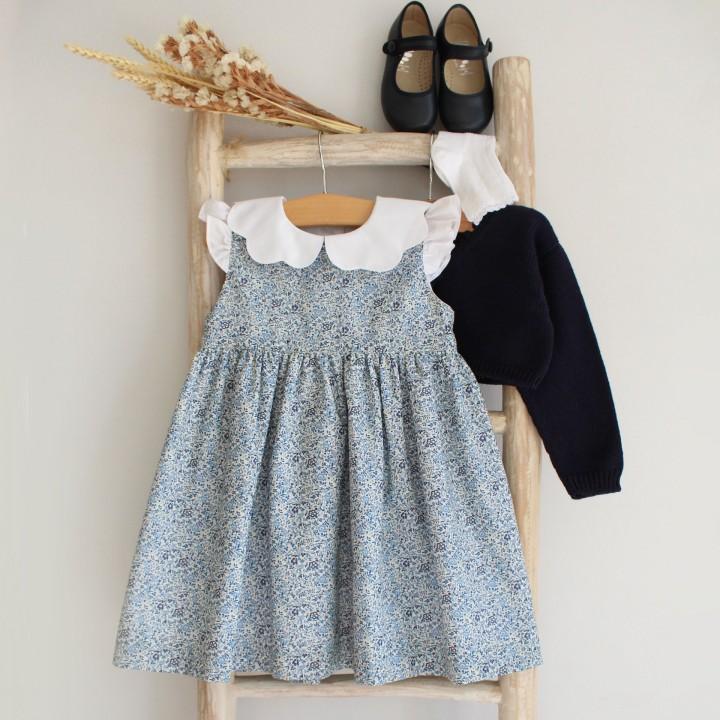 Double collar Dress