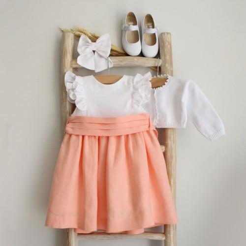 Vestido Mix Coral