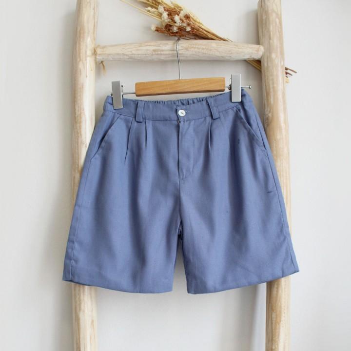 Calções Azul Jeans