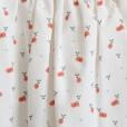 Túnica com padrão de cerejas