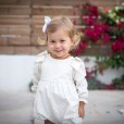 Plumeti romper with shoulder bows