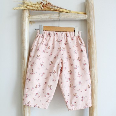 Foxes and deers Pants