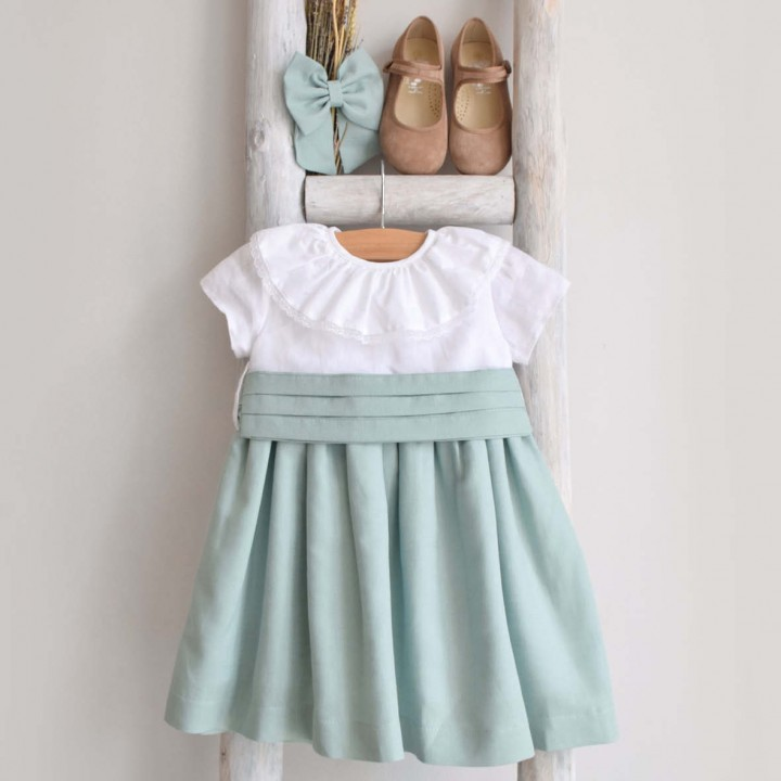 Vestido Mix Verde