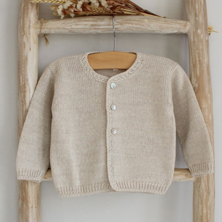 Sand Knitted Cardigan
