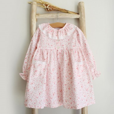 Pink floral Sleeping gown
