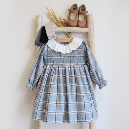 Blue Tartan Dress