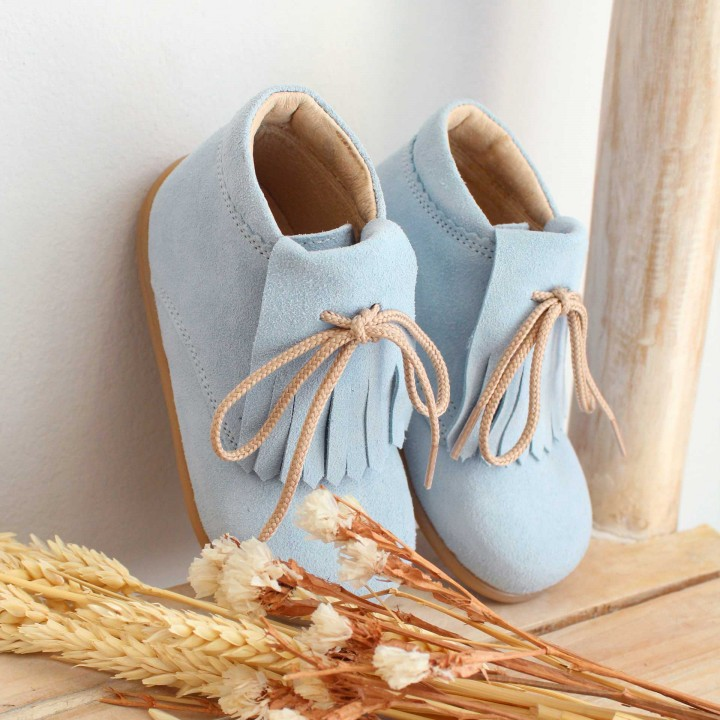 Leather Shoes with fringes