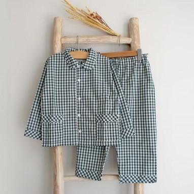 Green Vichy Pyjama